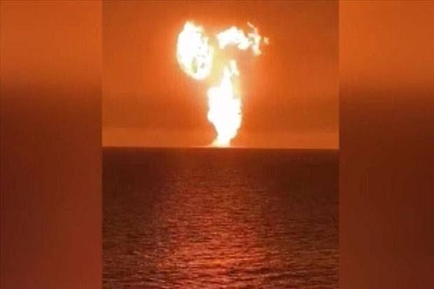 Ledakan Hebat Guncang Laut Kaspia Dekat Azerbaijan